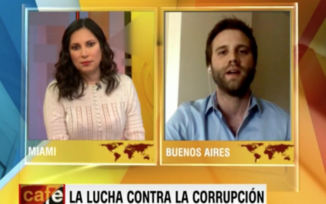 Renzo Lavin, Director Ejecutivo de ACIJ en CNN en Español