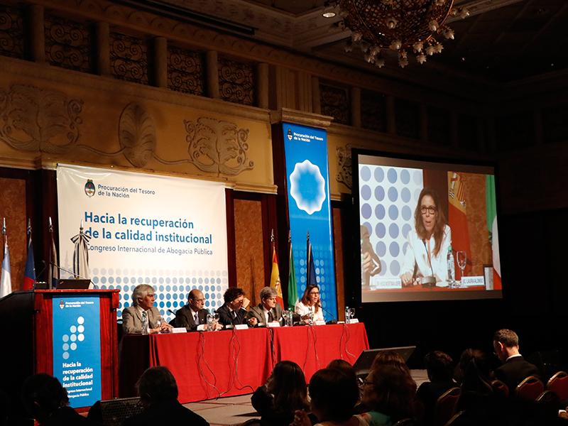 Participación en el Congreso Internacional de Abogacía Pública