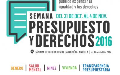 """Semana """"Presupuesto y Derechos"""""""