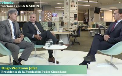 Entrevista a Hugo Wortman Jofre, Presidente de Poder Ciudadano y a José Ugaz, Presidente del Transparencia Internacional